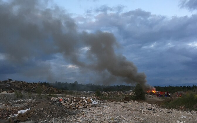 Põleng Sompas BRD Mineral territooriumil.