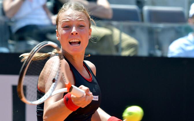 Anett Kontaveit (WTA 27).