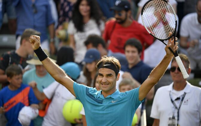 Роджер Федерер вернулся на вершину рейтинга.