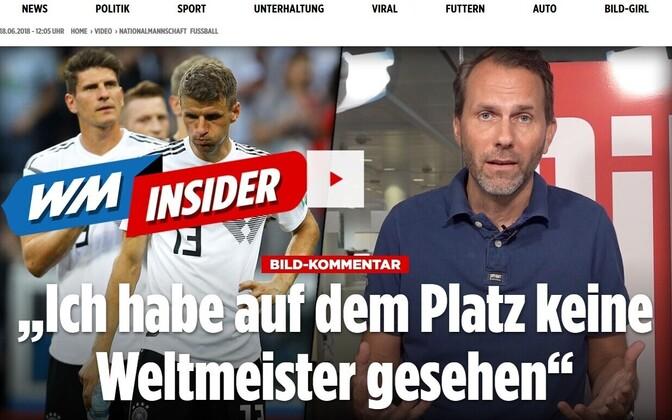 Bild oli Saksa meeskonna üks teravamaid kriitikuid