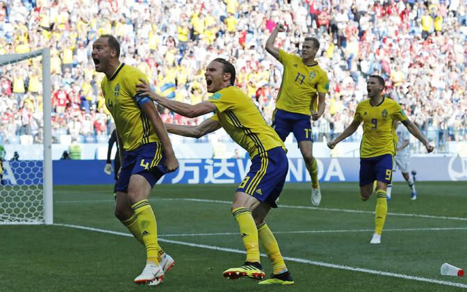 Rootsi võiduvärav Lõuna-Korea vastu