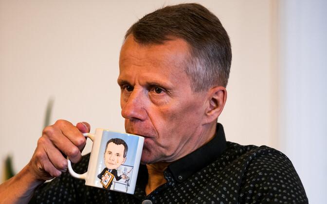 Jürgen Ligi during a recent interview with ERR.
