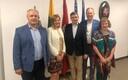 Väliskomisjoni liikmed Leedu peakonsuliga.