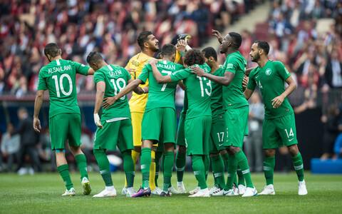 Saudi Araabia jalgpallikoondis.