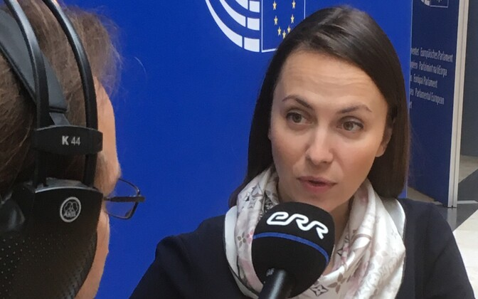 Bulgaaria eurosaadik Eva Maydell.