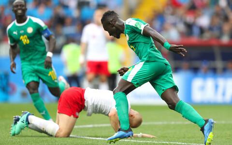 Матч Польша-Сенегал на ЧМ-2018 по футболу.