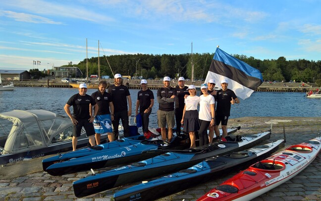 Yukon Team Estonia maratoni eel