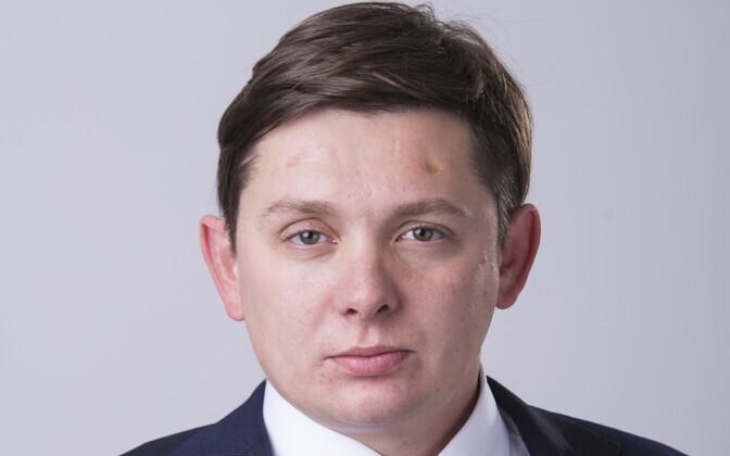 Läti parlamendisaadik Artuss Kaiminš.