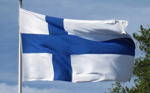 Финский флаг.