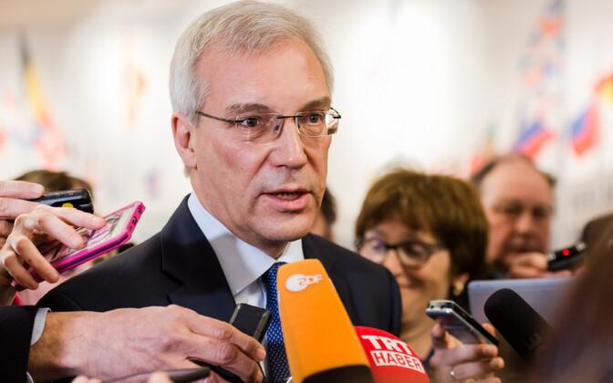 Vene asevälisminister Aleksandr Gruško.