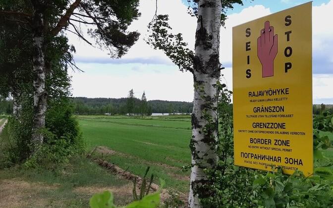 Piiritsoon Soome kagupiiril.