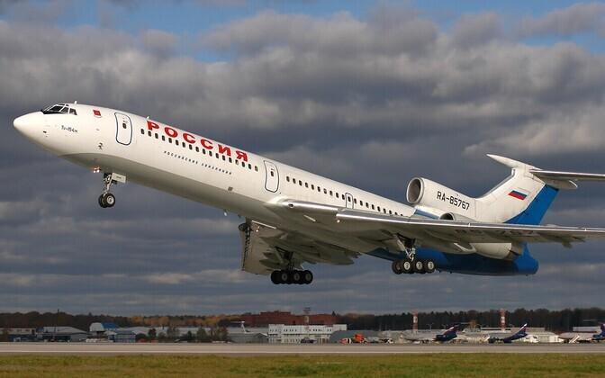 Ту-154М. Иллюстративная фотография.