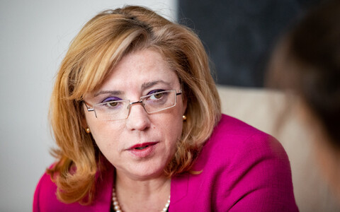 European Commissioner for Regional Policy Corina Creţu.