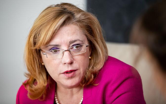 European Commissioner for Regional Policy Corina Creţu.