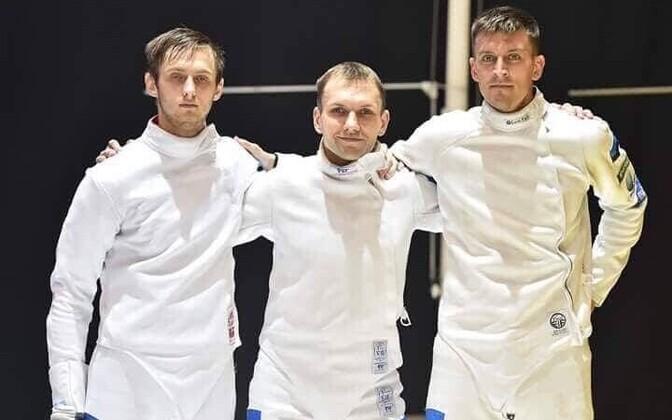 Peeter Turnau, Jüri Salm ja Sten Priinits