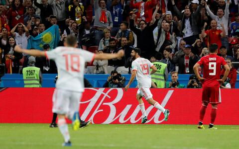 Iraan - Hispaania.
