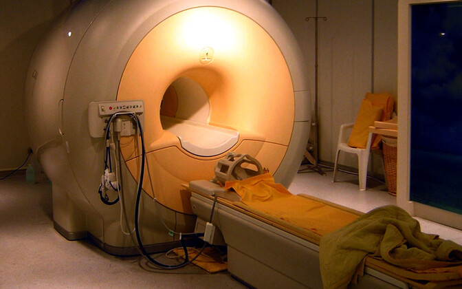 MRI Scanner (picture is illustrative)