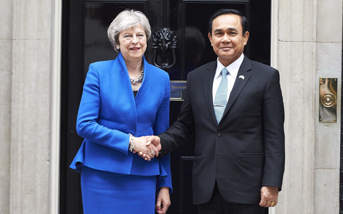 Briti ja Tai peaminister 20. juunil Londonis.