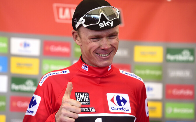 Chris Froome mullusel Vueltal.