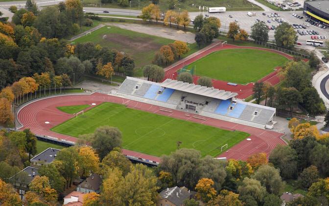 Стадион в Кадриорге.