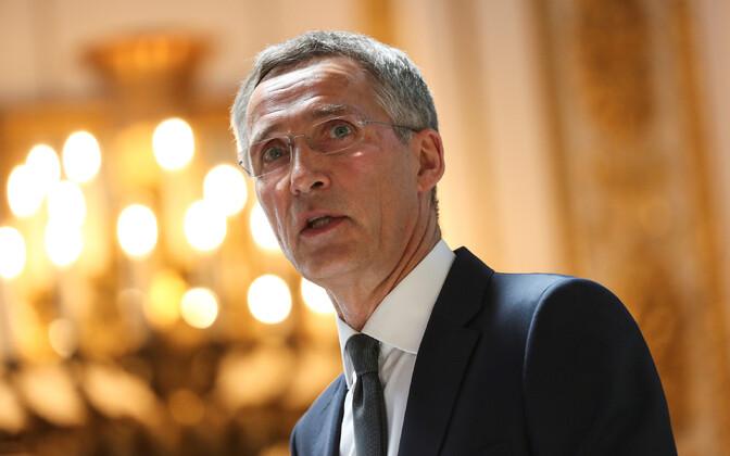 NATO peasekretär Jens Stoltenberg Londonis.