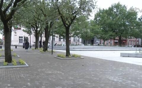 Центральная площадь Пярну.