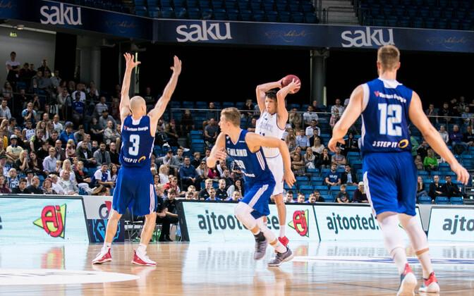 Korvpalli maavõistlus: Eesti - Soome