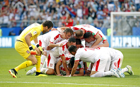 Serbia jalgpallikoondis.
