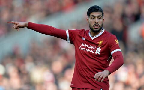 Emre Can Liverpooli särgis.