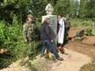 Piirivalvurite mälestusüritus Lüganuse kalmistul.