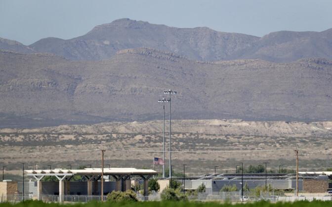 Eraldatud põgenikeperede varjupaik Texases Fabensis.