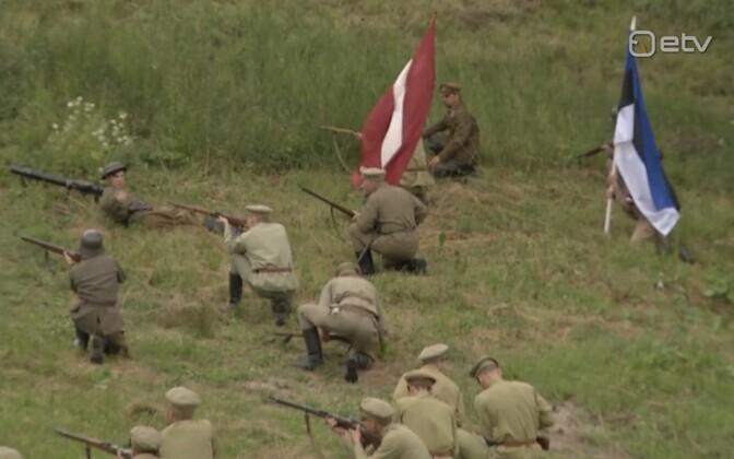 Lätis taaselustati Võnnu lahing.