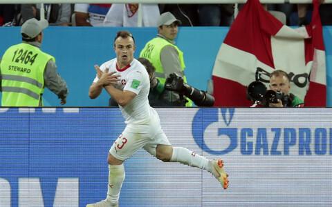 Победный гол забил Джердан Шакири.
