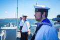 Морской военный парад в Таллиннском заливе.