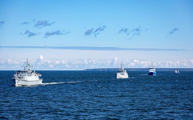 Võidupüha mereparaad Tallinna lahel