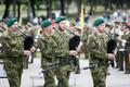 Парад в честь Победы в освободительной войне на Певческом поле.