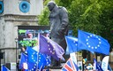 В июне в центре Лондона протестующие требовали народного референдума по условиям соглашения по брекситу.