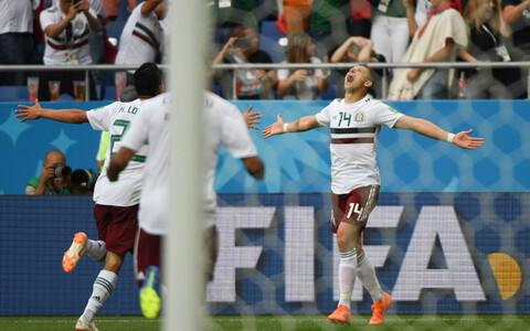 Матч Южная Корея - Мексика на ЧМ-2018.