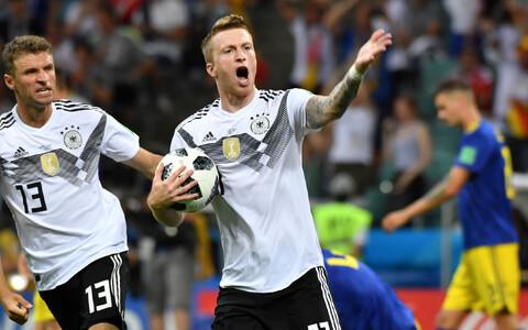Футболисты сборной Германии вырвали победу у шведов - 2:1.