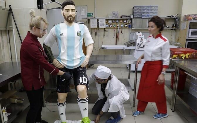 Šokolaadist Lionel Messi.