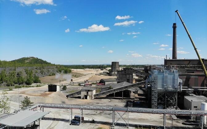 Kiviõli keematööstus.