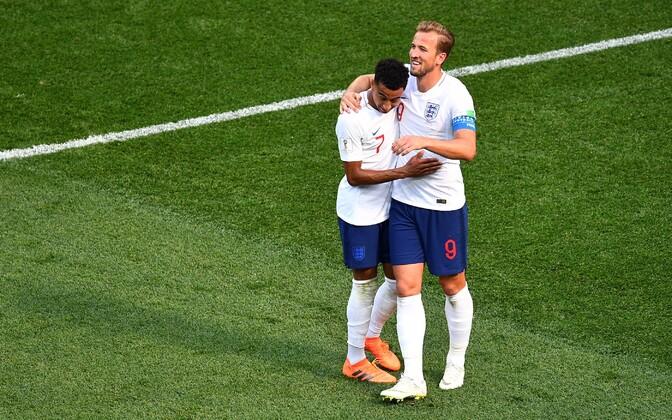 Inglismaa jalgpallikoondis, Jesse Lingard ja Harry Kane