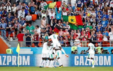 Sadio Mane viis Senegali Jaapani vastu juhtima