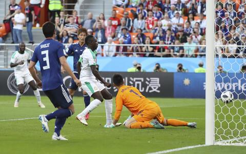 Sadio Mane viis Senegali 1:0 juhtima