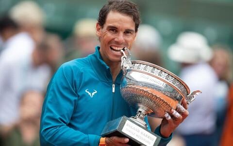 Rafael Nadal Prantsusmaa lahtistel.