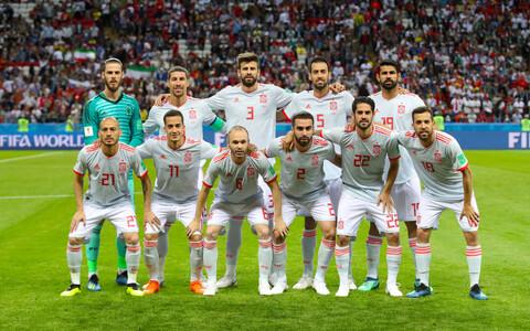 Hispaania jalgpallikoondis.