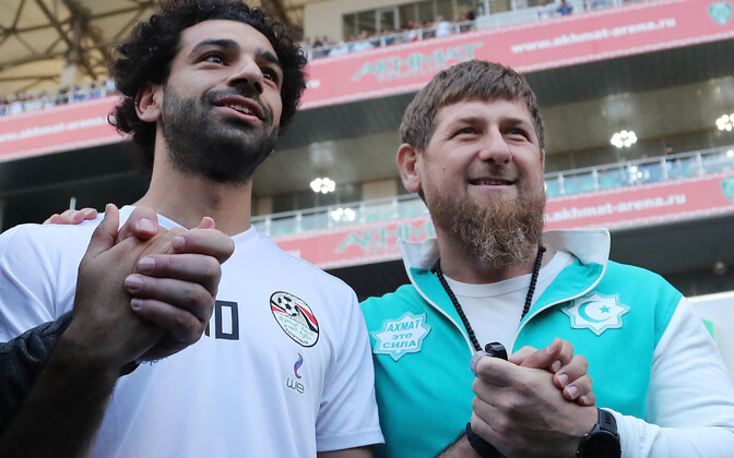 Mohamed Salah ja Ramzan Kadõrov.
