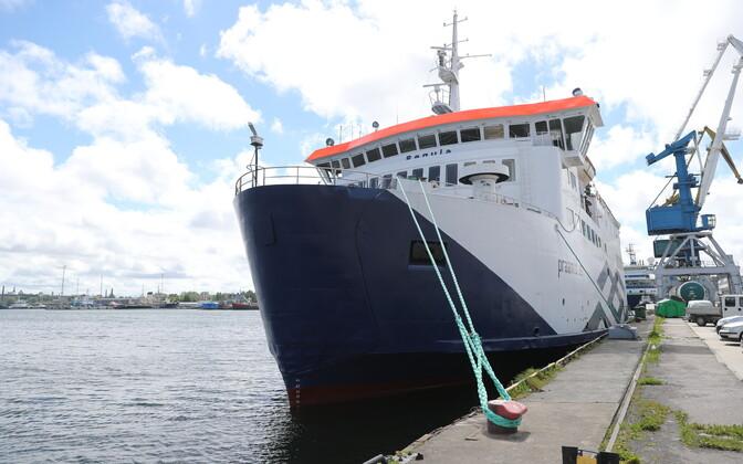 Порт Пальяссааре.