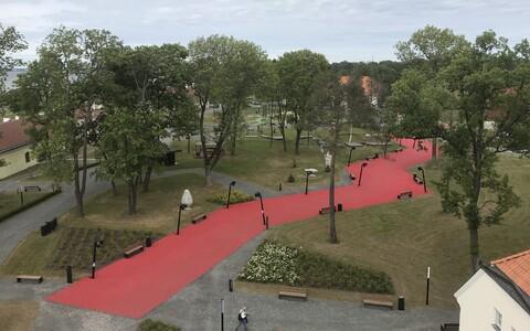 Eesti Ajaloomuuseumi õueala Maarjamäel