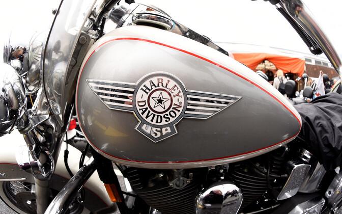 harley-Davidsoni mootorratas.